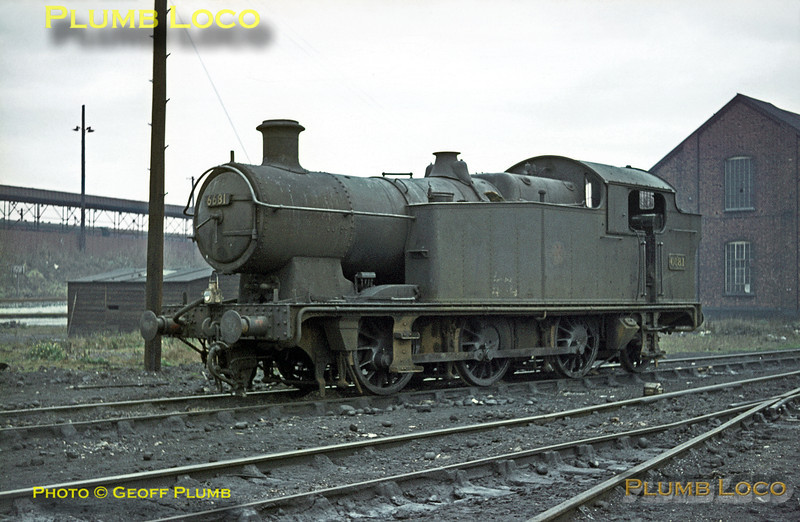 6681, Tyseley MPD, 22nd November 1964