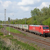 145 015 rushes the diverted Ambrogio train 40092 (Gallarate/I - Muizen/B) through Kohlscheid.