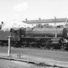 Taken from a passing train on 28/07/67 Carnforth allocated 45435 is seen on a parcels train at an unknown location on the WCML.