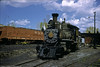 RGS #20 sits outside the Ridgway roundhouse on a beautiful June day in 1950.