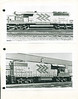 Ontario Northland Telecommunications. Discarded pages, identifying locomotive types for technicians. SD40-2 1735. GP38-2 1802.