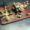 4 ohm telegraph sounder with key
