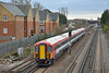 GatEx unit 442417 passes Horley forming 1U79 the 13.50 service from Gatwick Airport to London Victoria<br /> <br /> 18 February 2015