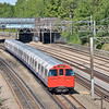 Bakerloo line 1972 stock heads south at Kenton with the 12.52 Harrow & Wealdstone to Elephant & Castle  2 September 2013