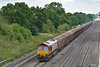 66074 rolls past Ruscombe taking ferry vans from Tilbury I.R.F.T  to Margam.<br /> <br /> 28 July 2014