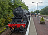 'The Lancashire Fusilier' 45407 - Garelochhead Station - 14 June 2013