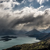 The head of Lake Wakatipu