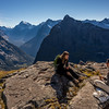 Lunch at the top of the Charismatic Wall