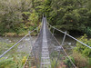 Swingbridge across Eastern Hutt River