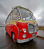 MacBrayne Vintage Bus at Riverside Museum - 5 April 2014