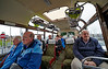 Fellow Passengers on the MacBrayne Vintage Bus - 5 April 2014