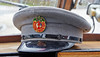 Drivers Hat on a MacBrayne Vintage Bus  - 5 April 2014
