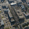 Aerial Shots of North to NAIT LRT Route - 107 Avenue/ 105 Street crossing