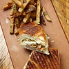 Robbinsdale, MN - JobNo_1063 - MNMO Minnesota Monthly: Travail restaurant in Robbinsdale, MN - Vaiety of images Italian Sausage Pate sandwhich and Zuchinni Fazzoletti for the pasta dish...<br /> 2) Pastrami or Cubano sandwich & Fries Date: Thursday August 12, 2010 Photo by © Todd Buchanan 2010 Technical Questions: todd@toddbuchanan.com; Phone: 612-226-5154. Keywords:  - Folder: MNMO_1010_1063_Dining_Second_Review_Travail