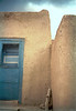 Sacred Blue Taos Door