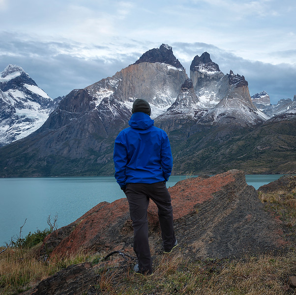 Hiking in Torres del Paine, Chile