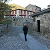 """<span style=""""color:yellow;"""">Walking the streets of Potes.  </span>"""