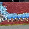 Centipede and Mushrooms Mural<br /> <br /> Makiki<br /> Honolulu, O'ahu<br /> 17 July 2014