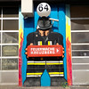 Kreuzberg Firefighter Street Art - Berlin