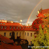 Rainbows in Vilnius, Lithuania