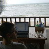 Working by the Beach - Koh Pha Ngan, Thailand