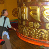 Massively Huge Prayer Wheel - Lake Khecheopalri, Sikkim