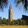 Rajabai Clock Tower Along the Maidens - Mumbai, India