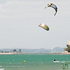 Kite Surfing at Mission Bay - Auckland, New Zealand