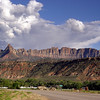 Photo By R Bodnar------Landscape at the  Entrance of Zion National Park
