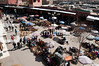 Overlooking the market at Rahba Qedima in Media district, Marrakech, Morocco, North Africa