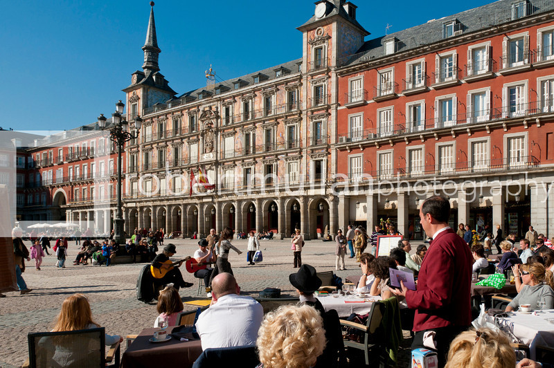 Casa de la Panadería on Plaza Mayor, Madrid, Spain