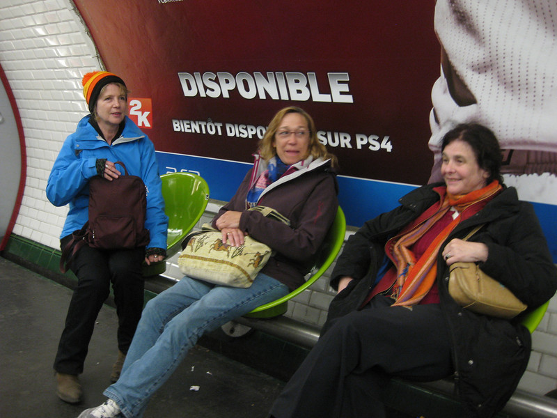 Paris subway Crystal Linda Ann