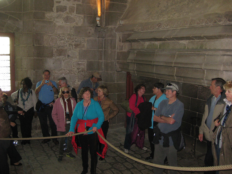 Mont St Michel  Abbey tour