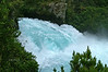 Wikato River rapids near Huka Falls, Taupo, North Island, New Zealand