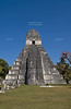Great Jaguar Temple (Temple I) Pre-Columbian Maya Site at Tikal National Park, Guatemala, a UNESCO World Heritage Site
