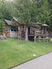 2013-07-12 - Outside view of Charles Wilson's cabin on Bottle Bay in Sagle, ID, USA