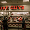 Five Guys Burgers at the Atlanta Airport