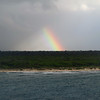 rainbow over Costa Maya