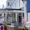 This hotel in Penzance, does a booming business serving tea and scones to bus loads of tourists - including us!