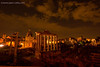 Nighttime view of the Roman Forum ... can you see the ghosts?