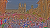 Spanish Steps of Rome ... done in HDR tone mapping.