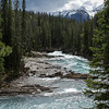 Kicking Horse River at Natural Bridge in Yoho National Park in Alberta, Canada