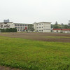 Chitose Elementary School and soccer field