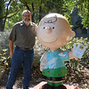 Jim with Charlie Brown