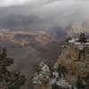 2014-12-25, Christmas Snow near Ver Kamps Visitor Center, Grand Canyon. Taken with my Canon EOS 7D, 24-105 mm lens.