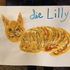 """""""Die Lilly"""" art; hostility towards the cat or too long in Germany? You decide."""