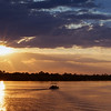 Sunset on Zambezi River