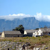 562 Table Mountain from  Robben Island, Cape Town