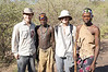 With Hadzabe bushmen
