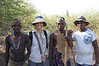 With Hadzabe bushmen and our guide/translator
